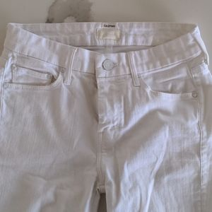 Mother white jeans size 26